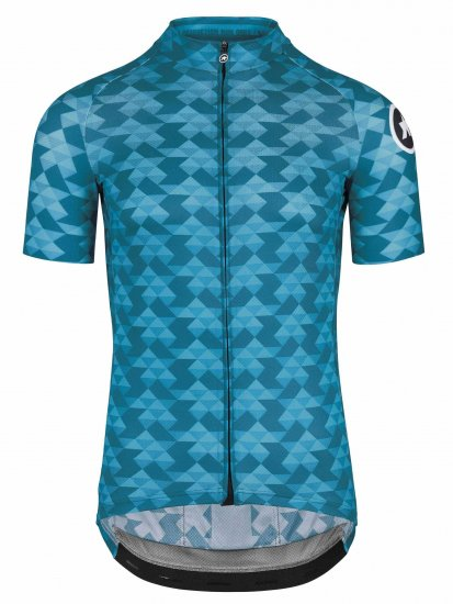 【ASSOS/アソス】DIAMOND CRAZY  SS JERSEY  ADAMANT BLUE(男性用 ダーク&ライト ブルー)LIMITED EDITION