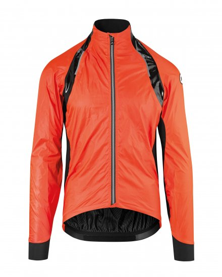【ASSOS/アソス】RS STURMPRINZ EVO RAIN JACKET LOLLY RED(蛍光色)