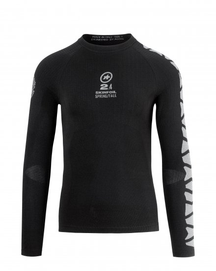 アーカイブセール【ASSOS/アソス】SKINFOIL LS SPRING FALL BASE LAYER