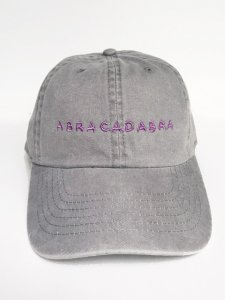 <img class='new_mark_img1' src='https://img.shop-pro.jp/img/new/icons59.gif' style='border:none;display:inline;margin:0px;padding:0px;width:auto;' />ABRACADABRA cotton cap gray×lavender