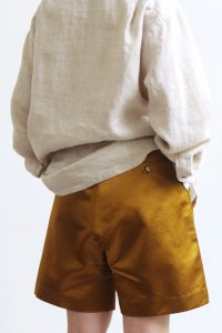Easy Short Pants (satin gold)