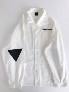 <img class='new_mark_img1' src='https://img.shop-pro.jp/img/new/icons5.gif' style='border:none;display:inline;margin:0px;padding:0px;width:auto;' />Triangle Elbow! Jacket off white