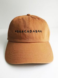 <img class='new_mark_img1' src='https://img.shop-pro.jp/img/new/icons5.gif' style='border:none;display:inline;margin:0px;padding:0px;width:auto;' />ABRACADABRA cotton cap ukon×black