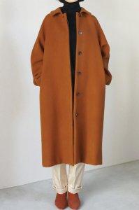 【受注商品】Wool Melton Soutien Collar  Coat