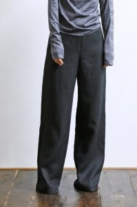 Linen Wide Easy Pants