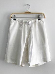 Easy Short Pants (satin white)