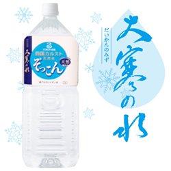 四国カルスト天然水 ぞっこん 〜大寒の水〜 2L 1ケース(6本入り)