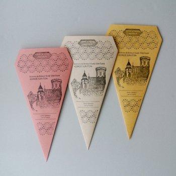 トライアングル封筒3色セット