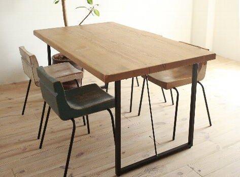GALA スチールレッグテーブル140