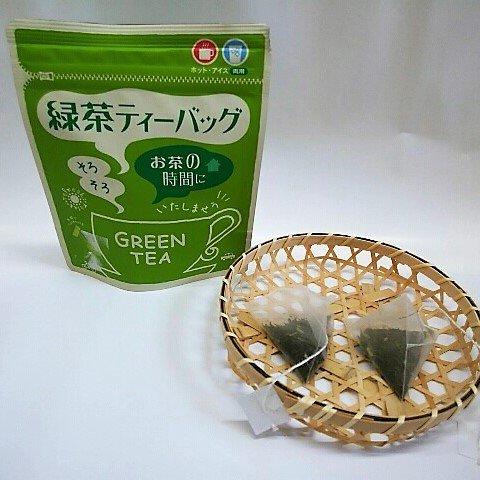 パック入り緑茶<br>