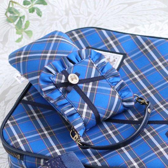 ブリーフバッグ、フリルペンケース 神戸タータン