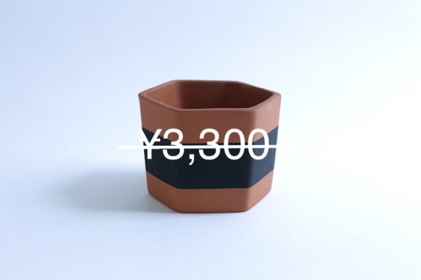 HEX POTS (black)