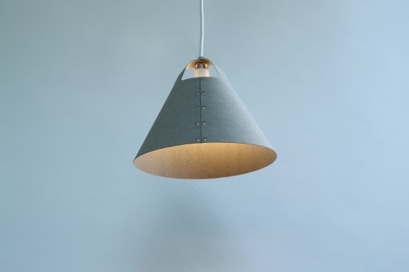 rivet lamp (Grey)