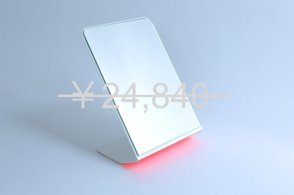 FLARE STAND-UP MIRROR(red)