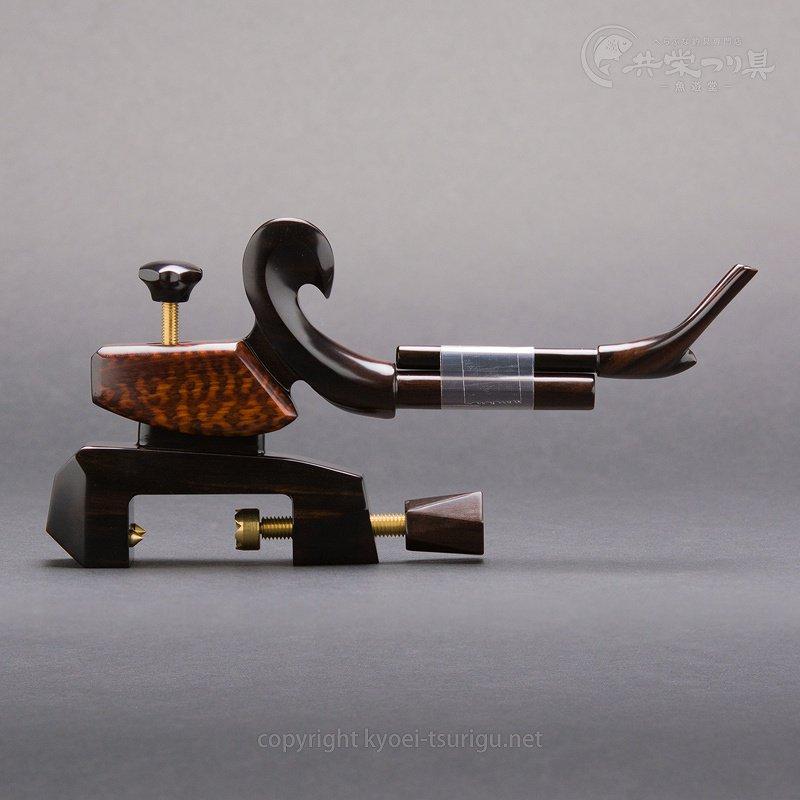 【夢釣工房】No.90 小型 黒檀+スネークウッドのサムネイル画像
