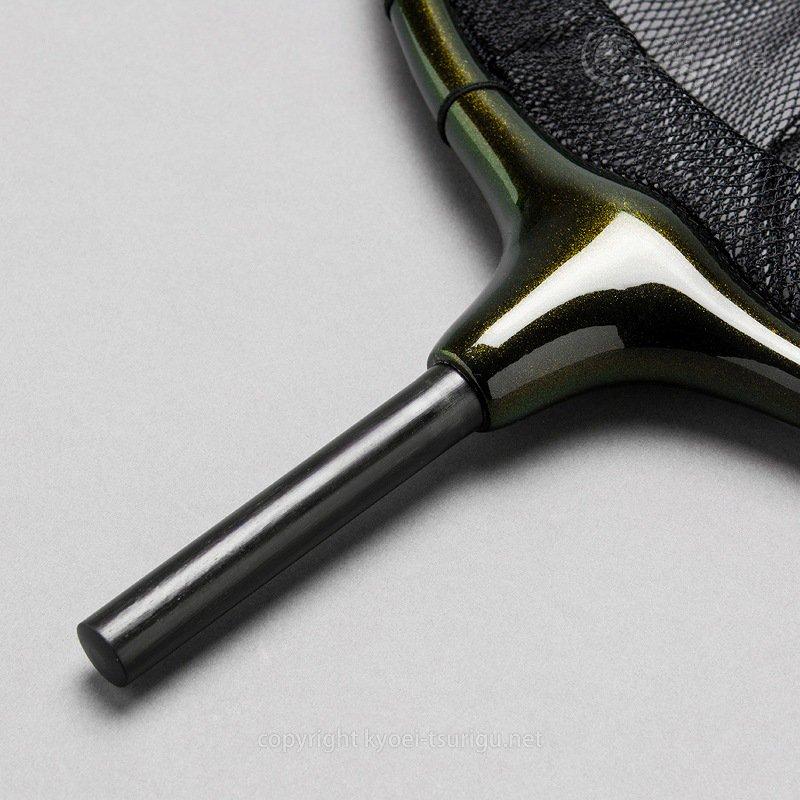 【かちどき】カーボン玉枠 2mm目網付(Mネイビー・尺サイズ)のサムネイル画像