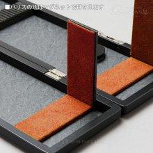 【金鯱×かちどき】ハリス箱 K712/K713 幅広タイプ(黒艶消し)【収納袋付】