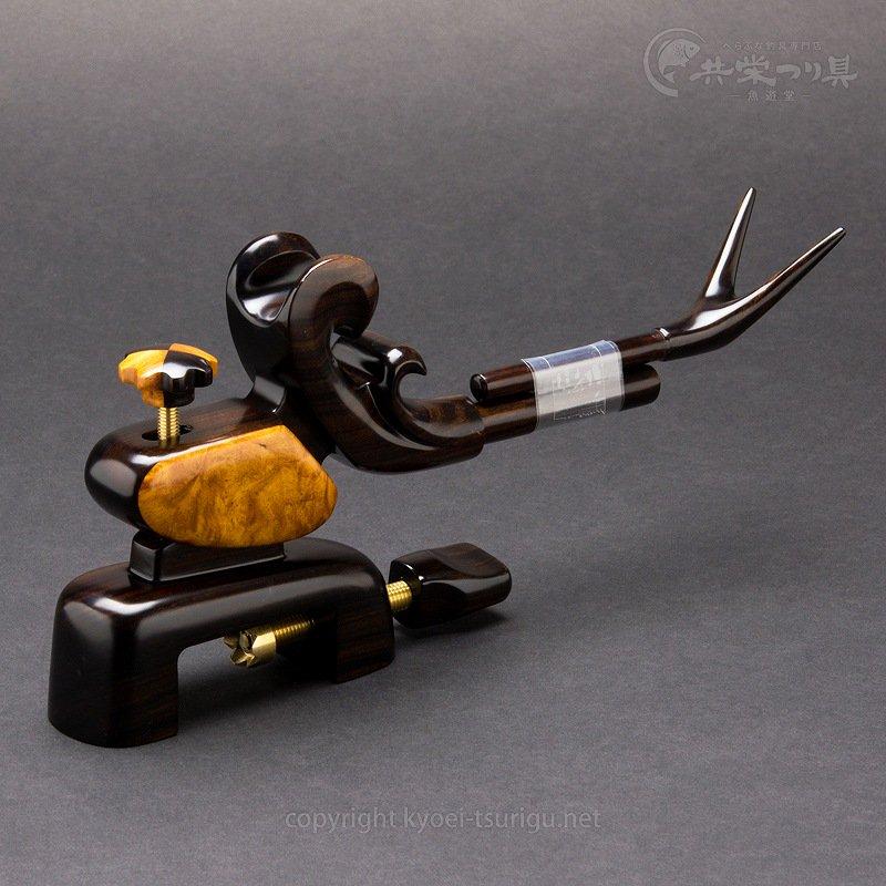 【夢釣工房】No.65 小型 黒檀+玉花梨のサムネイル画像