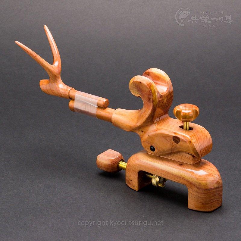 【ヤマサ大和】大型大砲型万力 ヒバ No.5 万力袋付【送料無料】のサムネイル画像