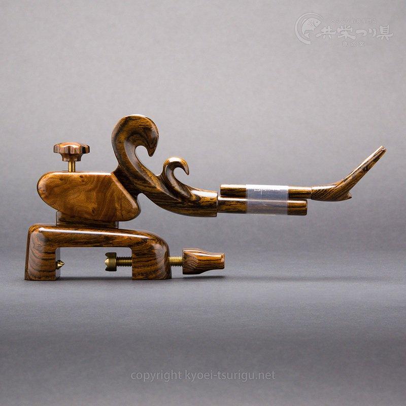 【夢釣工房】No.65 中型 黄金檀+玉花梨のサムネイル画像