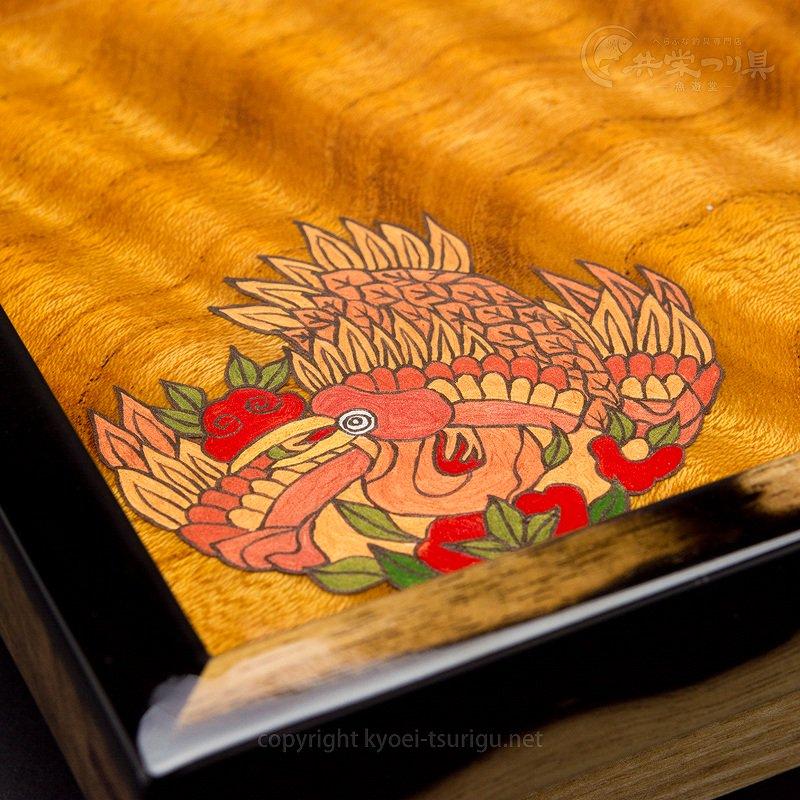 【忠相】お膳(ケヤキ)No.1 収納袋付【送料無料】のサムネイル画像