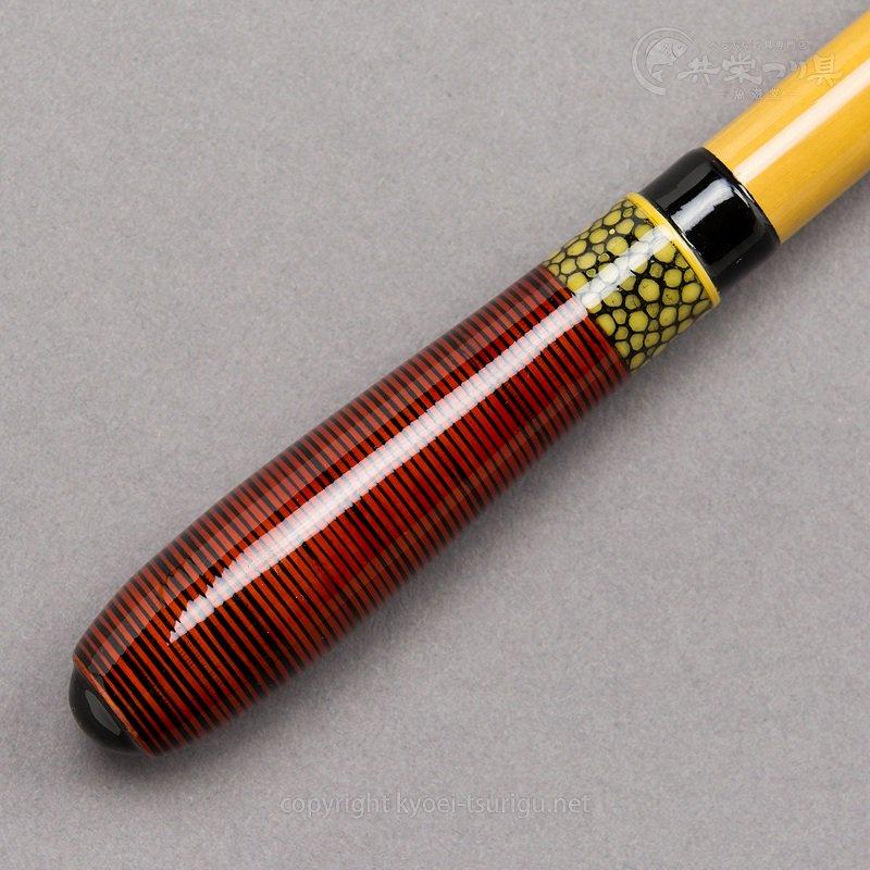 【共栄つり具】高級竹製ハリ外し(透かし籐+鮫皮) No.10のサムネイル画像