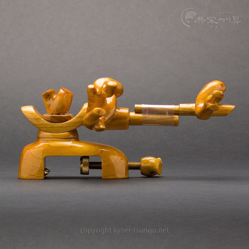 【承言】ケヤキ 中型弓形万力 朱印 No.4【送料無料】のサムネイル画像