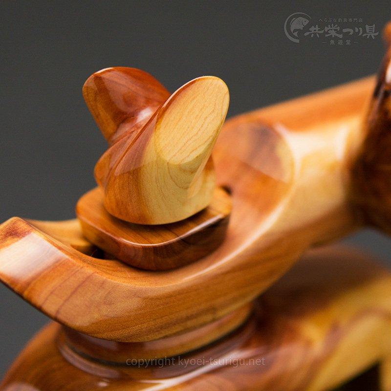 【忠相】ヒバ 中型弓型万力 No.4【送料無料】のサムネイル画像