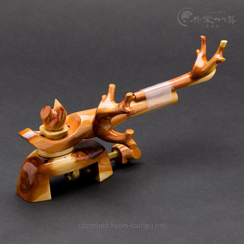 【忠相】ヒバ 中型弓型万力 No.5【送料無料】のサムネイル画像