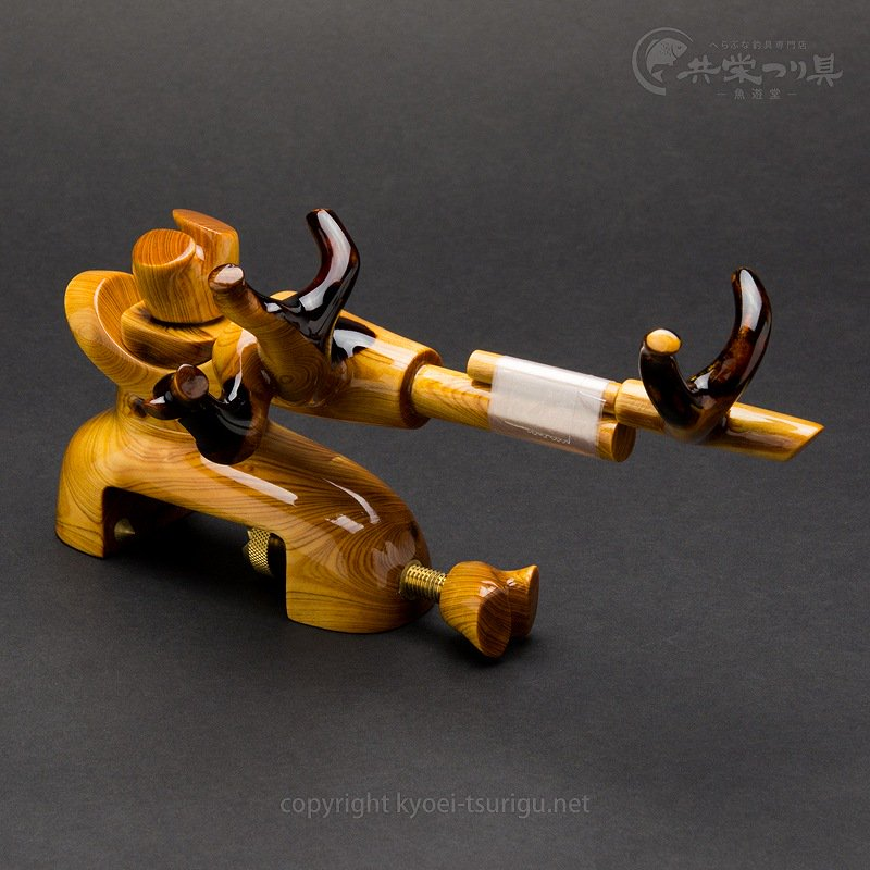 【承言-遊-】ヒバ 中型弓形万力 朱印 No.9【送料無料】のサムネイル画像