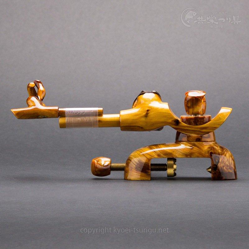 【承言-遊-】ヒバ 中型弓形万力 金印 No.12【送料無料】のサムネイル画像