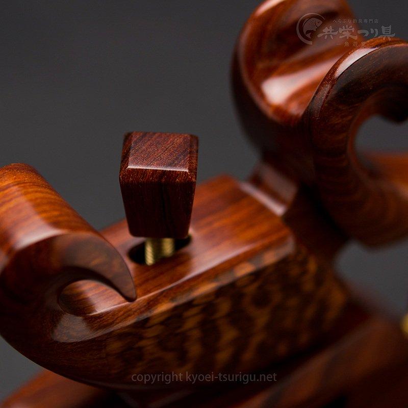 【夢釣工房】No.70 小型 紅紫檀+スネークウッドのサムネイル画像