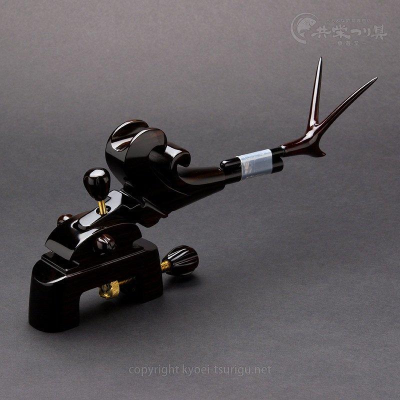 【豊舟(ほうしゅう)】黒檀 大型大砲型万力 No.1【送料無料】のサムネイル画像