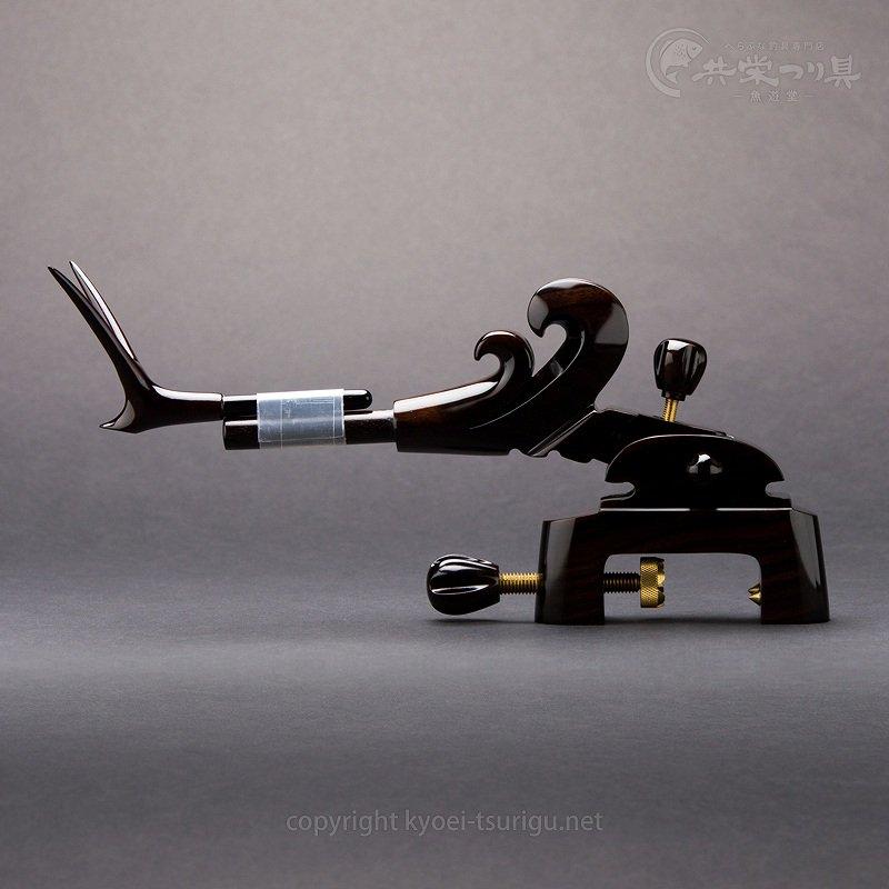 【豊舟(ほうしゅう)】黒檀 中型大砲型万力 No.2【送料無料】のサムネイル画像