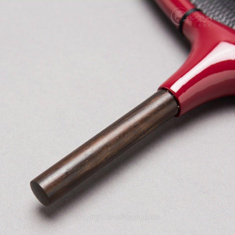 【かちどき】カーボン段巻(赤)玉枠 2.5mm目網付(尺一/尺二サイズ)のサムネイル画像