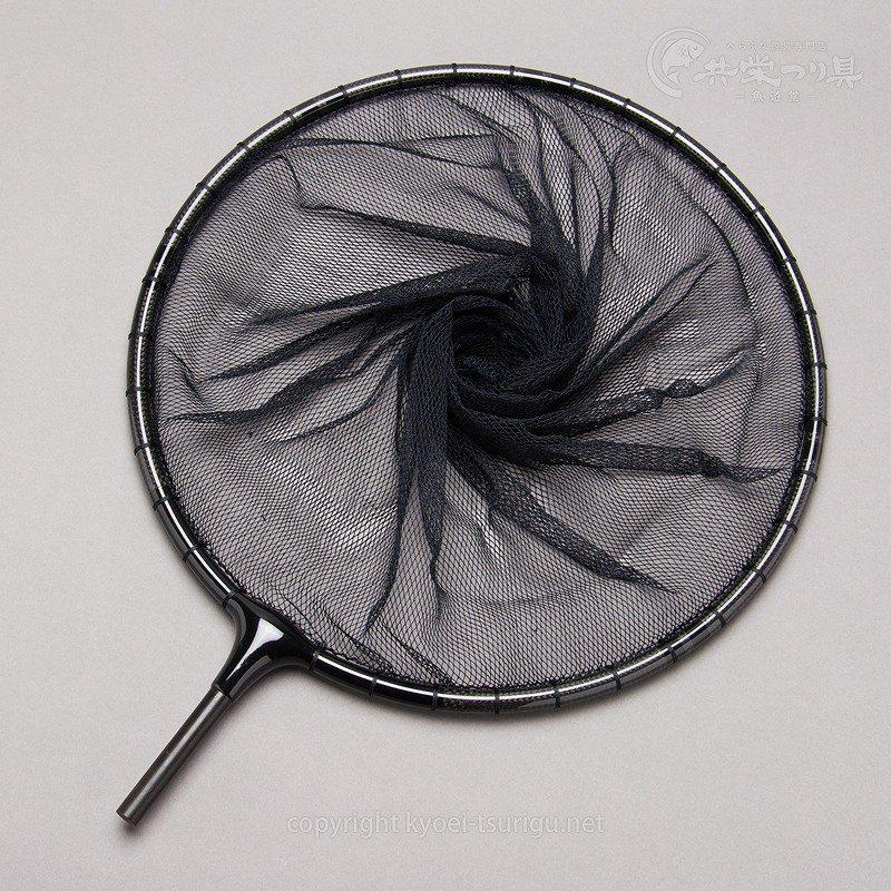【かちどき】カーボン段巻(黒)玉枠 2.5mm目網付(尺一/尺二サイズ)