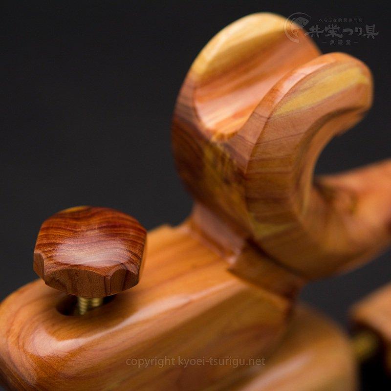 【玄粋】ヒバ 大型大砲型万力 No.6【送料無料】のサムネイル画像