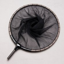 【かちどき】カーボン玉枠(カラーウーブン・レッド)2mm目網付(尺サイズ)