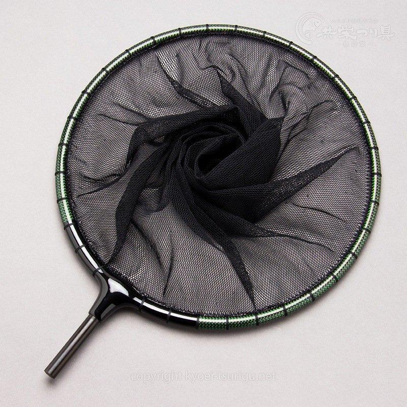 【かちどき】カーボン玉枠(カラーウーブン・グリーン)2mm目網付(尺サイズ)