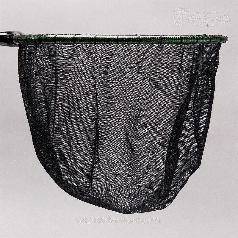 【かちどき】カーボン玉枠(カラーウーブン・グリーン)2mm目網付(尺サイズ)のサムネイル画像