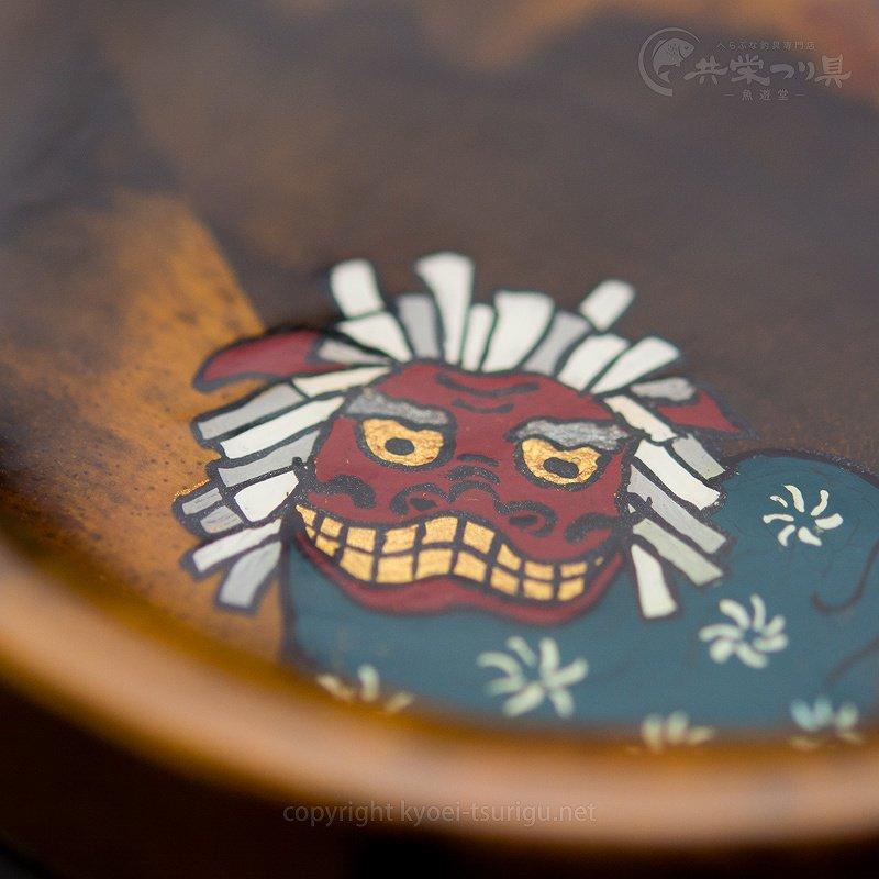【忠相】クワセ皿 No.5(黒柿×シャム柿・獅子舞)のサムネイル画像