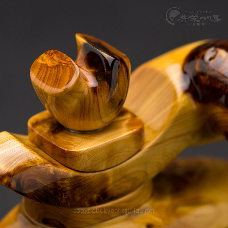 【承言-遊-】ヒバ 中型弓型万力 金印 No.27【送料無料】のサムネイル画像
