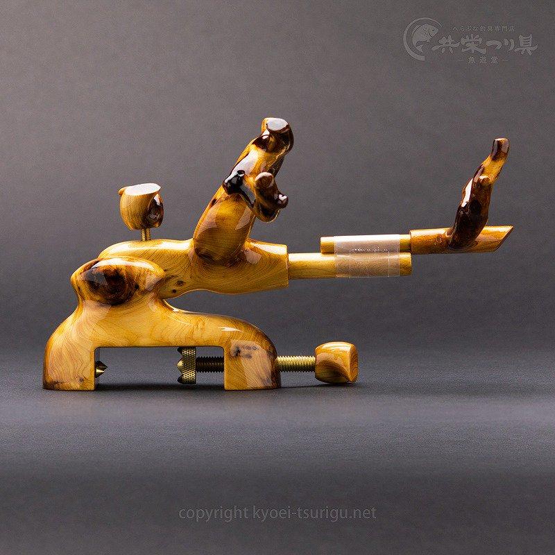 【承言-遊-】ヒバ 中型大砲型万力 金印 No.28【送料無料】のサムネイル画像