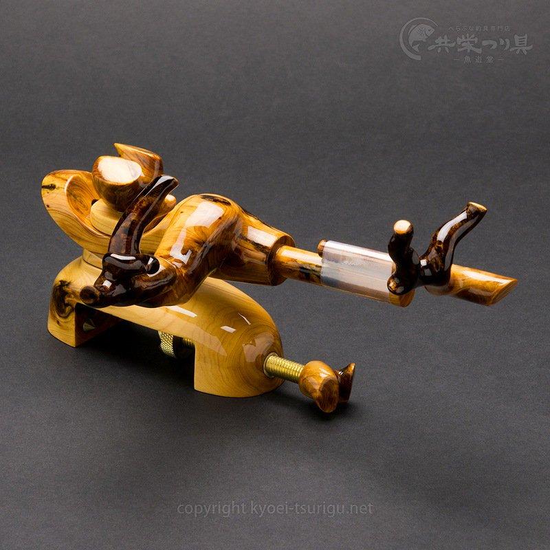 【承言-遊-】ヒバ 中型弓型万力 金印 No.29【送料無料】のサムネイル画像
