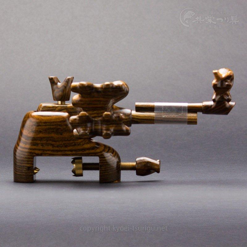 【かちどき】匠絆(しょうえん) タガヤサン 中型 大砲型万力 No.1【送料無料】のサムネイル画像