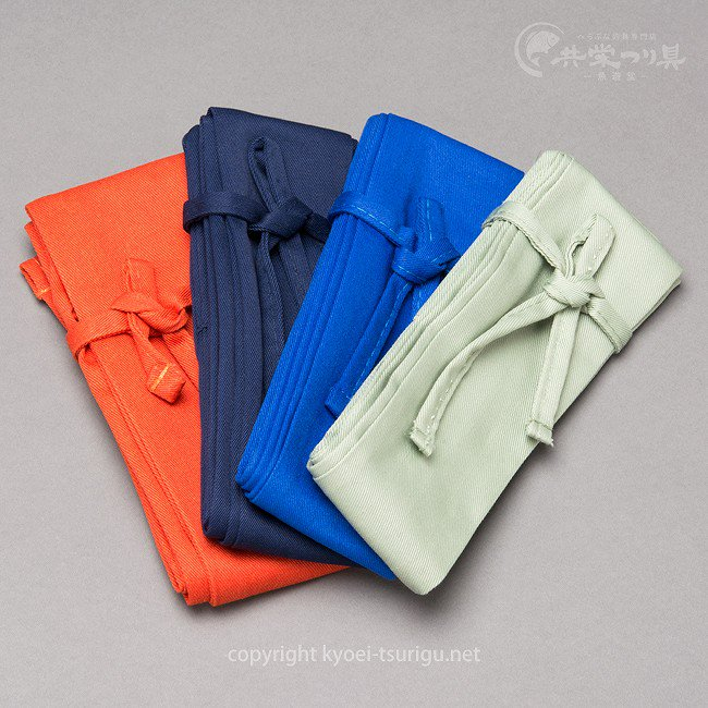 【かちどき】竿袋 135cm 5.5cm巾 無地 一層