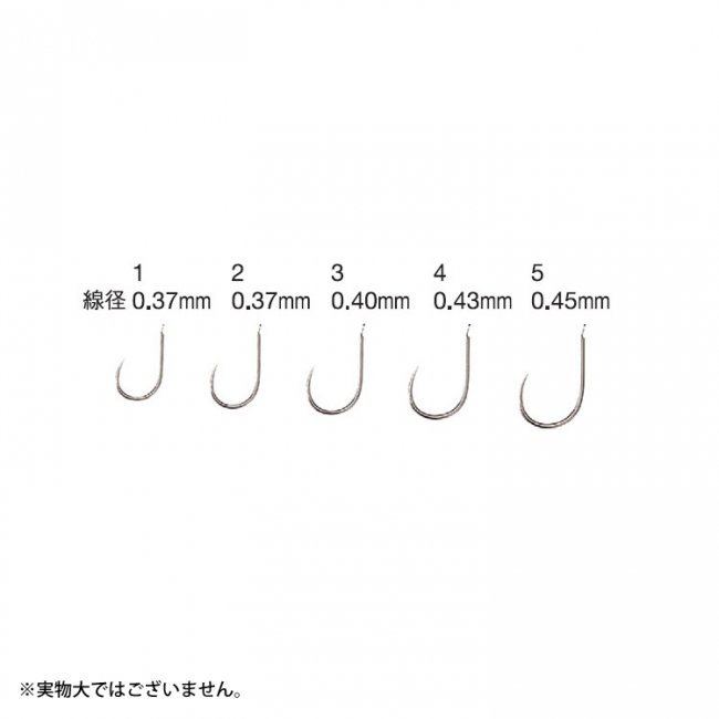 【VARIVAS】ウドン鈎のサムネイル画像