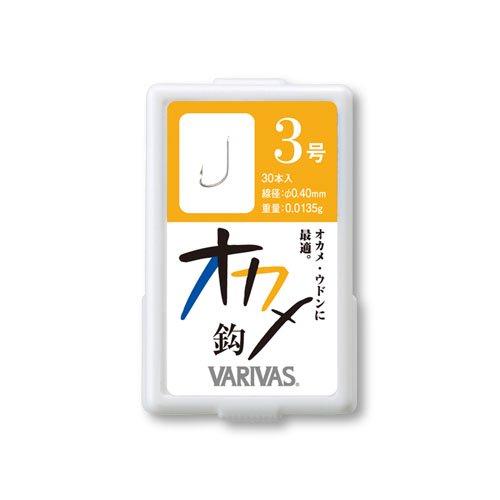 【VARIVAS】オカメ鈎(シルバー)