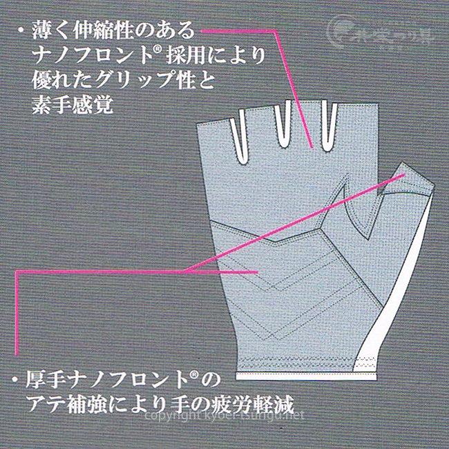 へらグローブ Nano (5本指出し)のサムネイル画像
