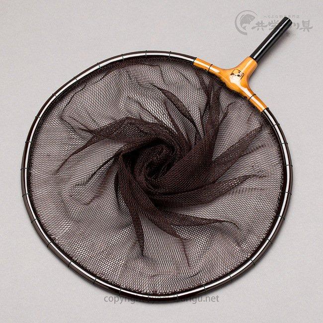 【竿春工房】山伏 網付天然玉枠(尺サイズ) 鉄黒(てつぐろ)のサムネイル画像